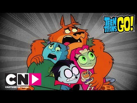 Haideți, tineri titani! | Monștri adevărați | Cartoon Network