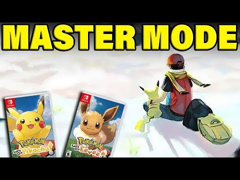 Pokemon Let's Go MASTER DIFFICULTY CONFIRMED! THE BIGGEST POKEMON NEWS EVER! thumbnail