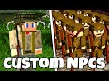 WEAPONS, ARMOR, SKINS and MORE! - Custom NPCs Tutorial (Minecraft)