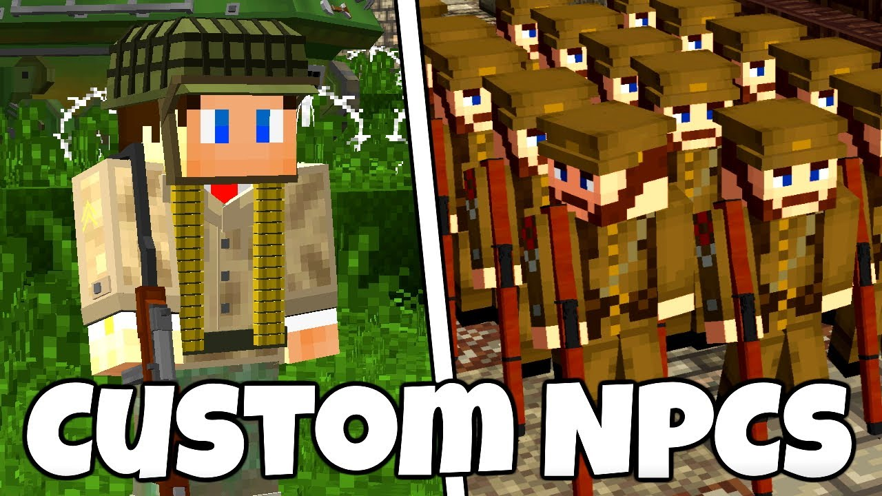 Weapons Armor Skins And More Custom Npcs Tutorial