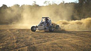 750cc X Kart Gets OFF ROAD TIRES!