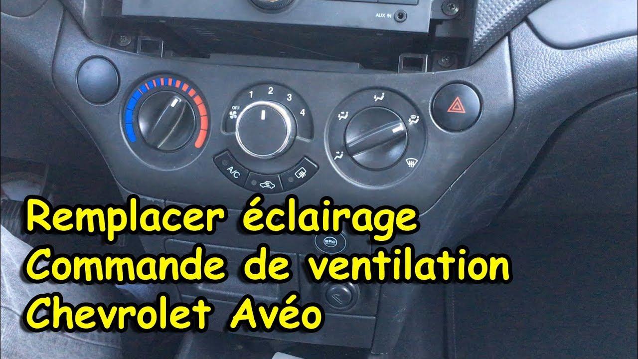 Comment Remplacer L Eclairage Sur Commande De Ventilation
