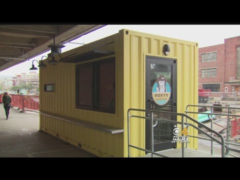 Innovative Container Businesses Open At Boston's Marine Indu