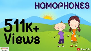 Kids Learning -- Learn About Homophones