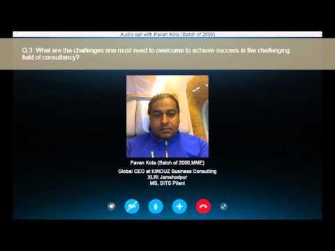 ISM Alumnus Interview - Pavan Kota (Batch of 2000)