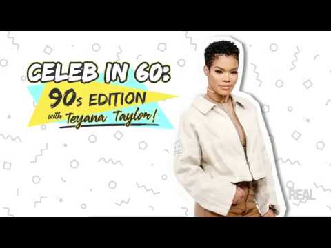 WEB EXCLUSIVE: 'Celeb in 60: '90s Edition' with Teyana Taylor