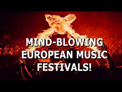 Top MUSIC FESTIVALS in Europe 2020