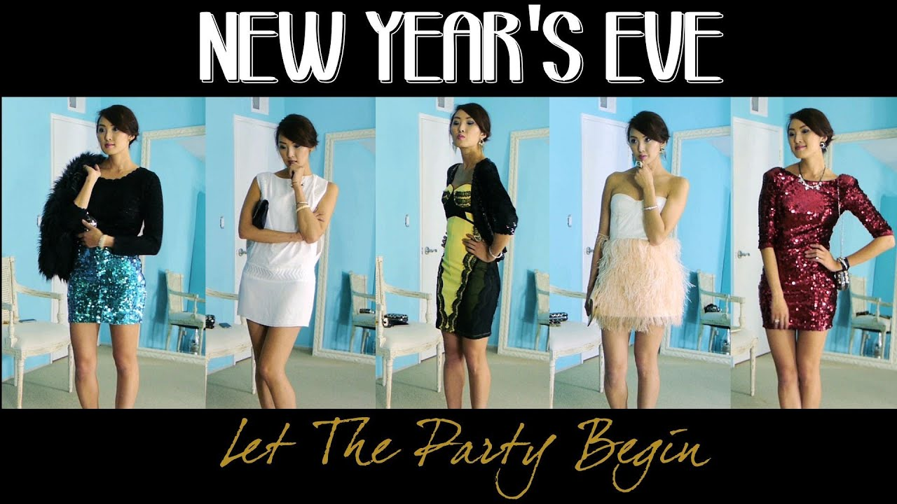 New Years Eve Looks - Let the Party Begin - YouTube