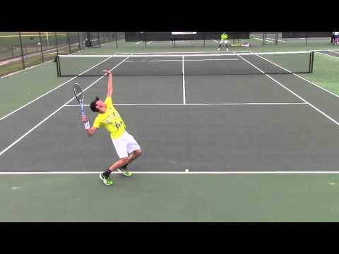 Lucas Oncins - Tennis recruiting video