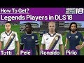 Dream League Soccer 2018 Legend Players Mod How To Get All Legend Soccer Players In DLS 18 mp3