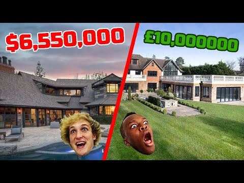 13 Expensive Things Owned By KSI Vs Logan Paul Vs DEJI Vs Jake Paul