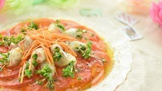 真鯛のカルパッチョ|Party Kitchen - パーティーキッチンさんのレシピ書き起こし