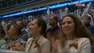 Хоккей. Ночная Хоккейная Лига. Гала-матч с участием звёзд российского и мирового хоккея.