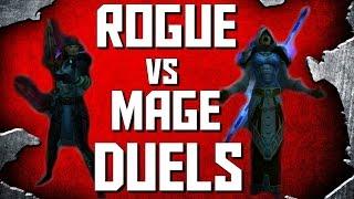 WoW Legion Duels   Rogue vs Mage