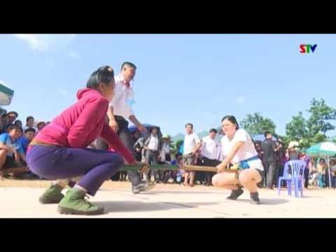 Sôi nổi các trò chơi dân gian tại Ngày hội Xoài Yên Châu