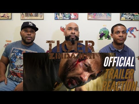 Tiger Zinda Hai Official Trailer Reaction...
