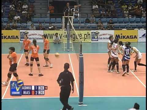 Match No.03 : MAS CLUB-MALAYSIA vs ADMU (Ateneo De Manila University-Lady Eagles) 2~3 - Set 4
