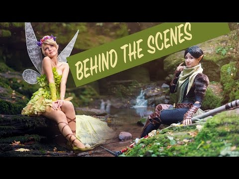 Merrill & Tinker Bell - Behind the Scenes Photoshoot