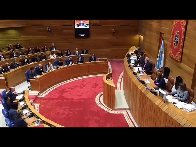 Caída en el sistema del Parlamento