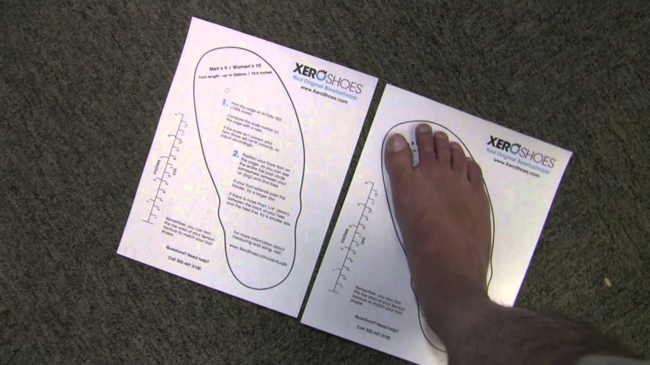 It is a graphic of Shoe Size Template Printable for foot size