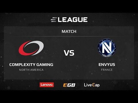 Complexity vs EnvyUs, map 1 train, ELEAGUE Season 1