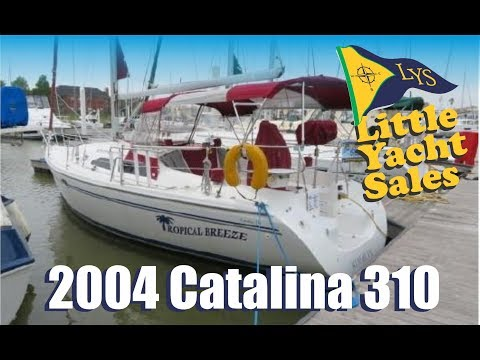 2004 Catalina 310 Sailboat for sale at Little Yacht Sales, Kemah Texas