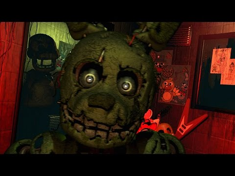 Five Nights at Freddy's 3 - Walkthrough Nights 1-5 & Night 6 Nightmare Mode