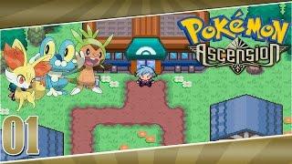 Pokémon Ascension Ep 1- Uma nova aventura
