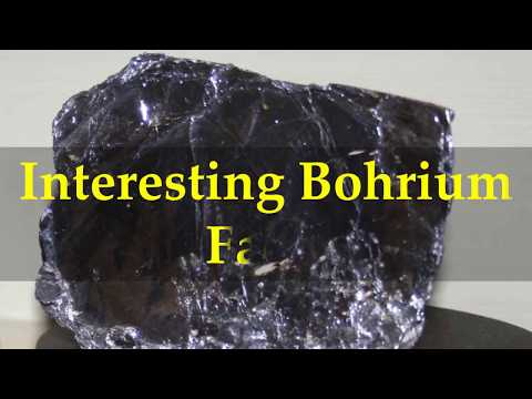 Interesting Bohrium Facts