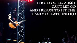 Gambar cover I Hold On by Slash (With Lyrics)