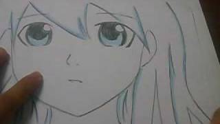 How to drawing and colouring anime