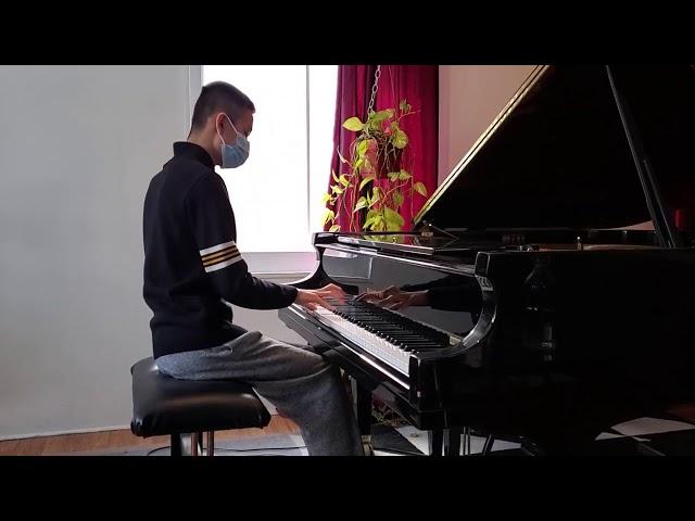 Chopin étude opus 10 n I excerpt