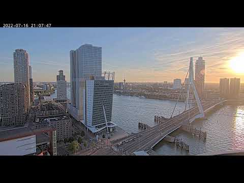 Live Stream - Erasmusbrug, Rotterdam - KPN Led Wall
