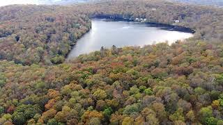DJI Mavic Air Drone Video Over Catskill Mountains & Lake Anawanda