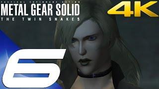 Metal Gear Solid Twin Snakes HD - Walkthrough Part 6 - Sniper Wolf Boss Fight [4K 60fps]