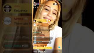 Polly's Live Broadcast on Tango Live!