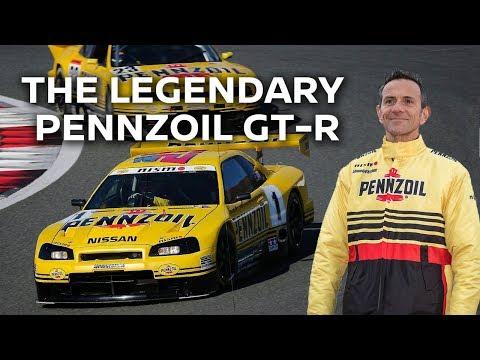 Meet the Legendary Pennzoil GTR R33 & R34