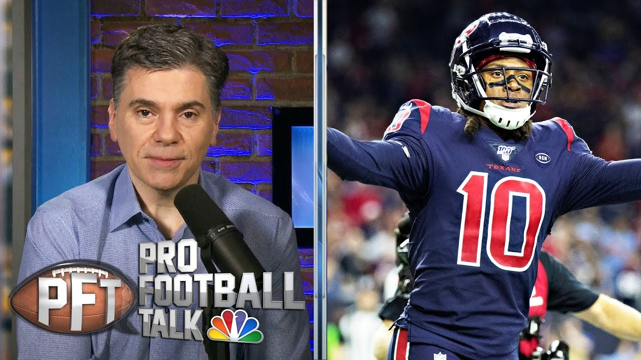 DeAndre Hopkins-David Johnson trade not official until physicals | Pro Football Talk | NBC sports