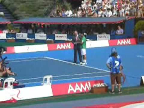 Kooyong AAMI Classic 2010 Trophy Ceremony