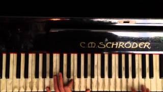 Баста - кинолента пианино видео урок (Tutorial)