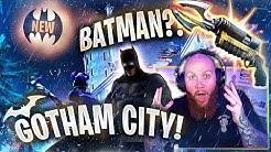 *NEW* BATMAN/GOTHAM CITY IS IN FORTNITE!?! - Fortnite Battle Royale