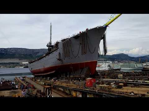 Brodosplit - Porinuće jedrenjaka (Nov. 483) 4K