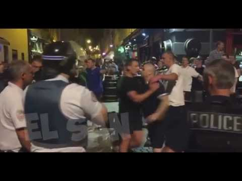 EURO2016: England Fans & Local Youths Clash In Marseille