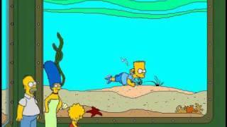 Simpsons Cartoon Studio - Bart Yüzmek