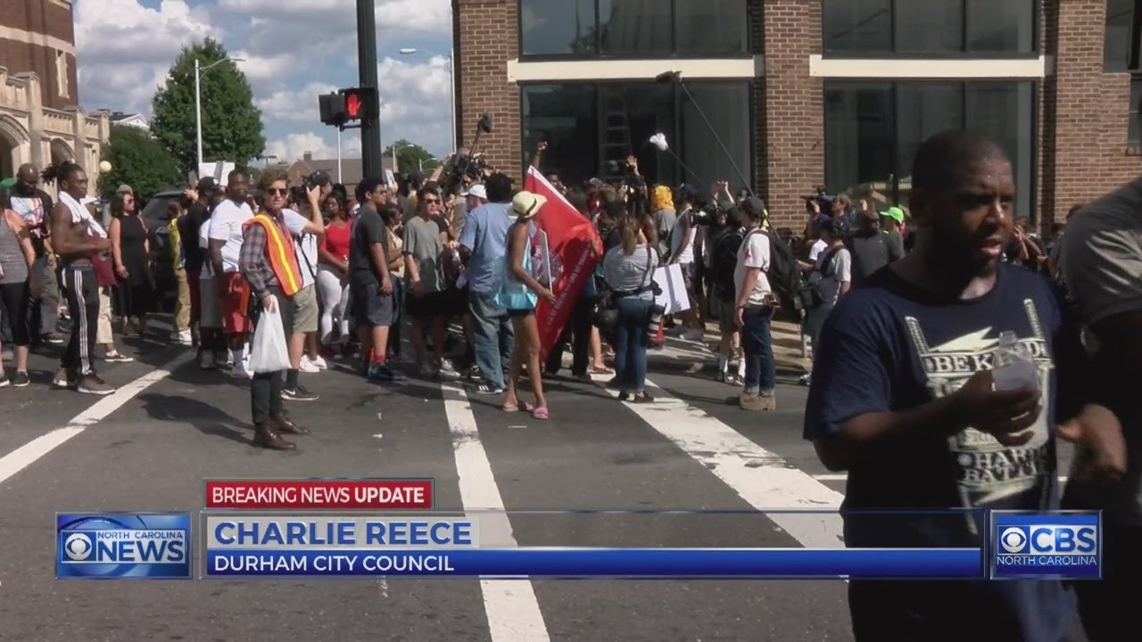 1 Charged As Durham Police In Riot Gear Clear Streets Of Protesters