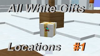 All White Gifts | Hypixel Skyblock !