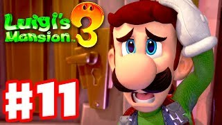Luigi's Mansion 3 - Gameplay Walkthrough Part 11 - Lots of Ghosts! Twisted Suites! (Nintendo Switch)