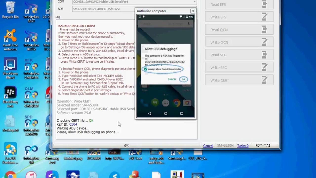 g530h emergency call only solution cert z3x   UPSchannel eu
