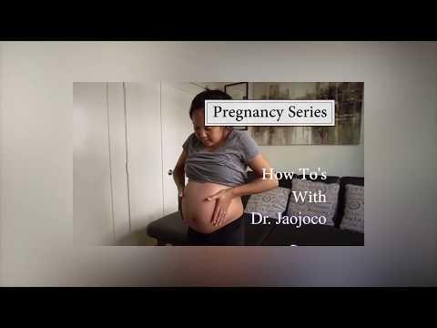 Dr Jaojoco Pregnancy Wellness and Self Care