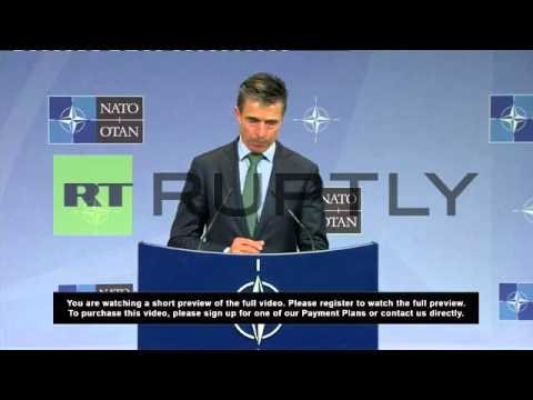 Belgium: NATO suspends all 'practical cooperation' with Russia